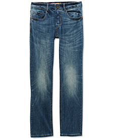 Seven7 Adaptive Men's Belmore Classic-Fit Power Stretch Jeans with Magnetic Fly and Stay-Put Closure