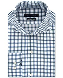 Men's Classic/Regular-Fit Non-Iron THFlex Supima® Stretch Check Dress Shirt