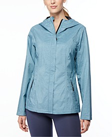 Hooded Water-Resistant Raincoat