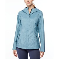 Deals on 32 Degrees Hooded Water-Resistant Raincoat