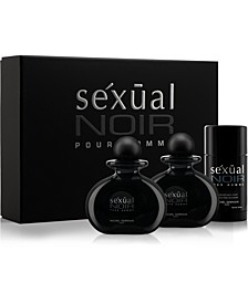 Men's Sexual Noir Pour Homme 3-Pc. Gift Set,  Created for Macy's