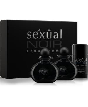 Men's Sexual Noir Pour Homme 3-Pc. Gift Set