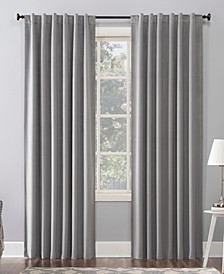 "Amherst Velvet 50"" x 84"" Thermal Blackout Curtain Panel"