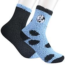 Women's 2-Pk. Minnie Mouse Rockin' Dots Softee Crew Socks
