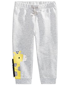Baby Boys Giraffe Jogger Pants, Created for Macy's