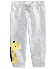 Baby Boys Giraffe Jogger Pants, Created For Macy's
