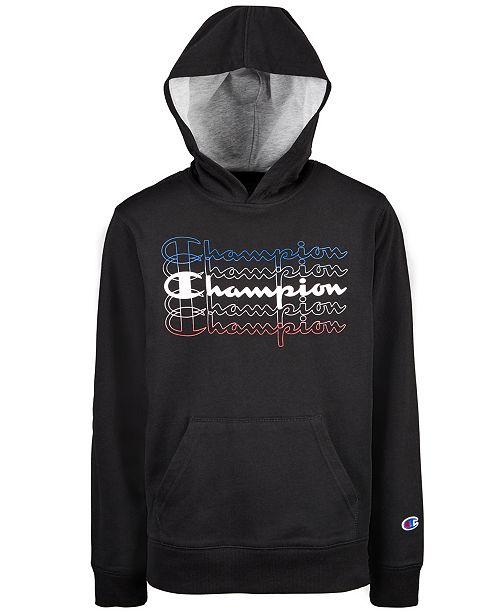Champion Toddler Boys Fade Logo Hoodie