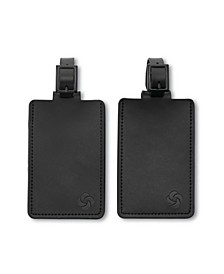 2-Pk. Leather ID Tags
