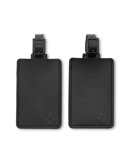 Samsonite 2-Pk. Leather ID Tags