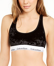 Women's Modern Cotton Velvet Unlined Bralette QF6025
