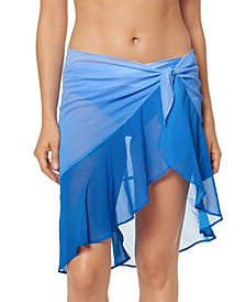 Ruffled Sarong Skirt Cover-Up