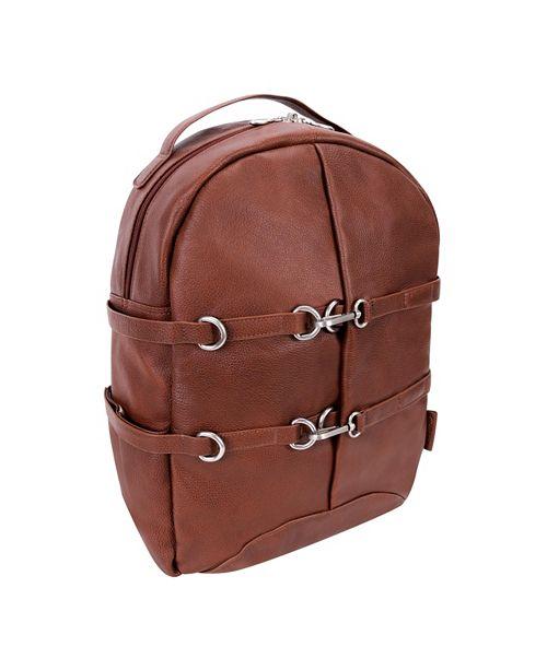 "McKlein Oakland 15"" Business Casual Laptop Tablet Backpack"