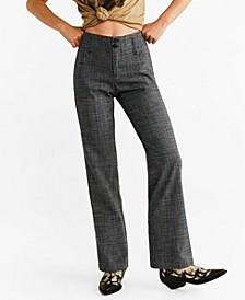 Printed Straight Pants