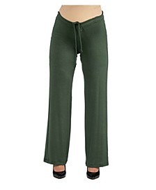 Women's Comfortable Drawstring Maternity Lounge Pants