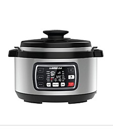 8.5 Quart Ovate Series Pressure Cooker with Accessories