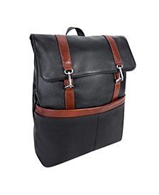 "Element 17"" Flap-Over Laptop Tablet Backpack"