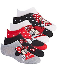 Disney's® 6-Pack No-Show Socks, Little Girls & Big Girls