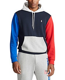 Men's Big & Tall Color-Blocked Logo Hoodie