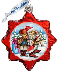 Christmas Tale Glass Ornament