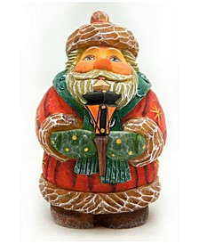 Gift Giver Lamplighter Santa Figurine