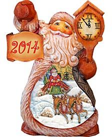 2019 Santa Village Sleigh Ride Tiny Tales Figurine