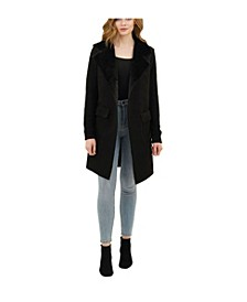 Harlow Faux Suede Cardigan