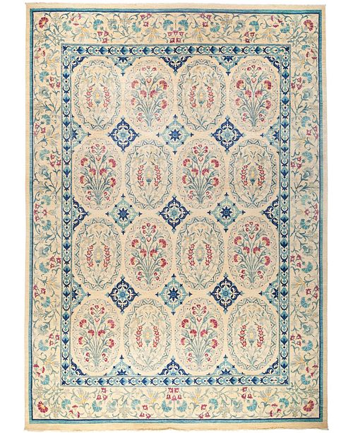 """Timeless Rug Designs CLOSEOUT! One of a Kind OOAK2792 Ivory 12'2"""" x 16'10"""" Area Rug"""