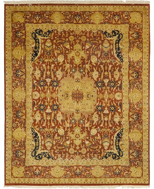 "Timeless Rug Designs CLOSEOUT! One of a Kind OOAK52 Cinnamon 8'2"" x 10'1"" Area Rug"