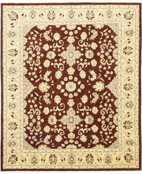 """Timeless Rug Designs CLOSEOUT! One of a Kind OOAK133 Chestnut 8'1"""" x 9'9"""" Area Rug"""