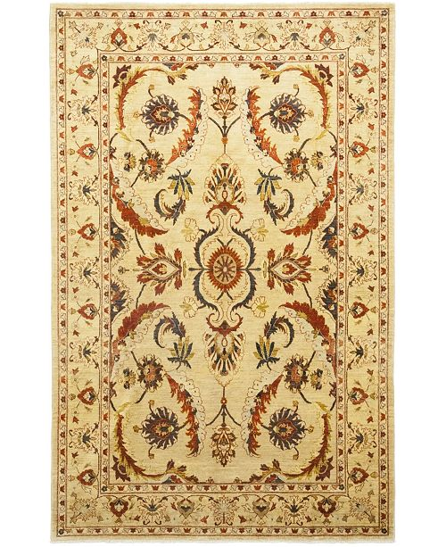 """Timeless Rug Designs CLOSEOUT! One of a Kind OOAK152 Flax 9' x 12'10"""" Area Rug"""