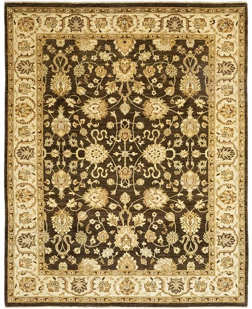 """Timeless Rug Designs CLOSEOUT! One of a Kind OOAK172 Brown 8'2"""" x 10'1"""" Area Rug"""