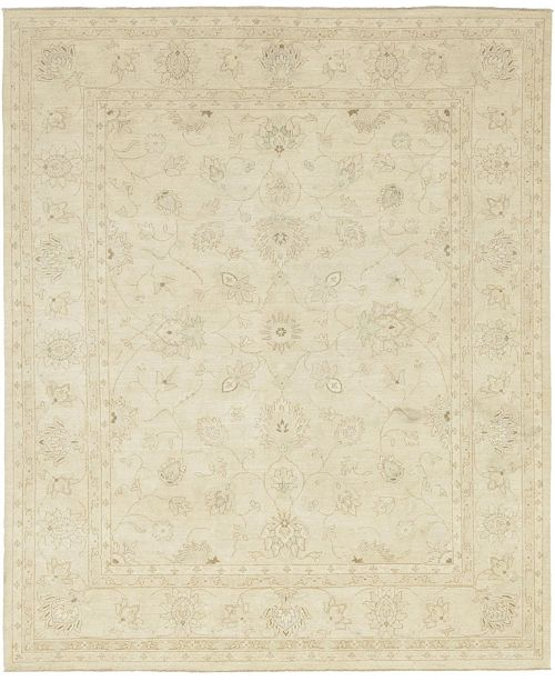 "Timeless Rug Designs CLOSEOUT! One of a Kind OOAK213 Ivory 8'3"" x 9'10"" Area Rug"