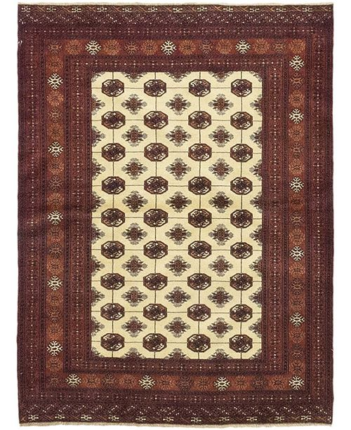 "Timeless Rug Designs CLOSEOUT! One of a Kind OOAK255 Sienna 4'2"" x 5'7"" Area Rug"