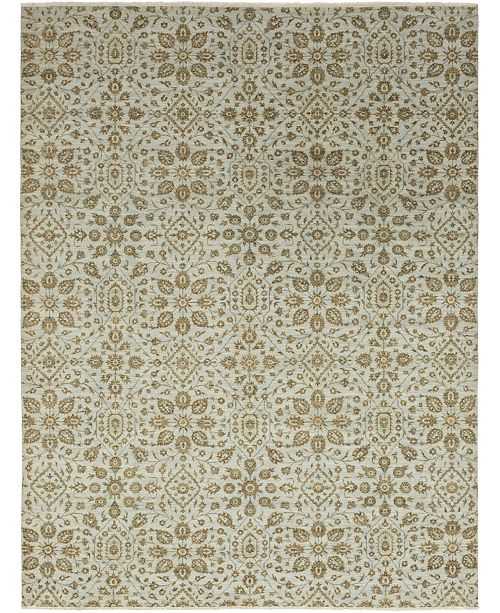 "Timeless Rug Designs CLOSEOUT! One of a Kind OOAK361 Hazelnut 9'3"" x 12'1"" Area Rug"
