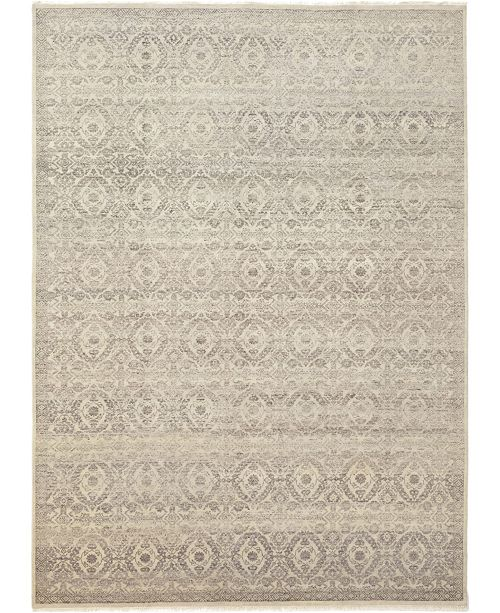 "Timeless Rug Designs CLOSEOUT! One of a Kind OOAK382 Mocha 10'1"" x 14'1"" Area Rug"