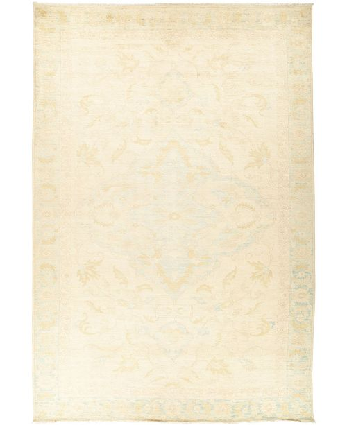 "Timeless Rug Designs CLOSEOUT! One of a Kind OOAK434 Ivory 10'3"" x 15'6"" Area Rug"