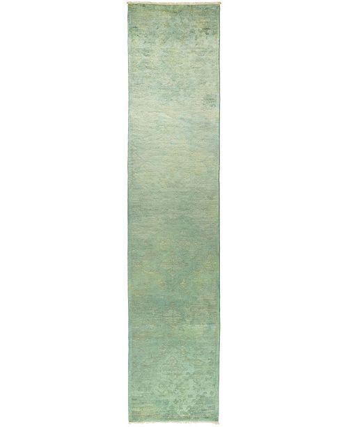 "Timeless Rug Designs One of a Kind OOAK502 Mint 2'6"" x 11'7"" Runner Rug"