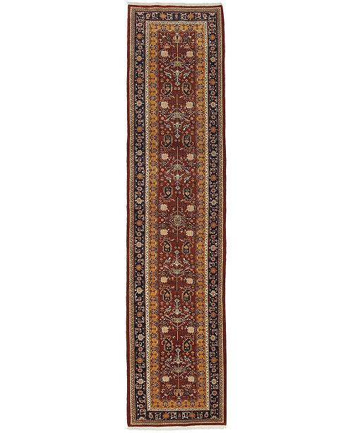 """Timeless Rug Designs CLOSEOUT! One of a Kind OOAK603 Tan 2'10"""" x 12'9"""" Runner Rug"""