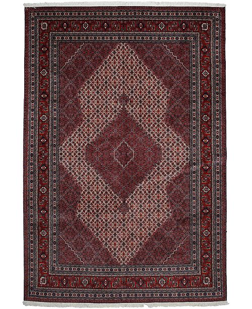 """Timeless Rug Designs CLOSEOUT! One of a Kind OOAK2698 Cherry 7' x 10'6"""" Area Rug"""