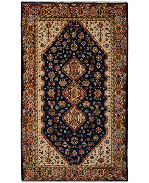 """Timeless Rug Designs CLOSEOUT! One of a Kind OOAK3810 Onyx 5' x 8'2"""" Area Rug"""