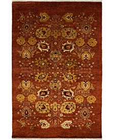 "CLOSEOUT! One of a Kind OOAK3682 Cinnamon 4'10"" x 7'4"" Area Rug"