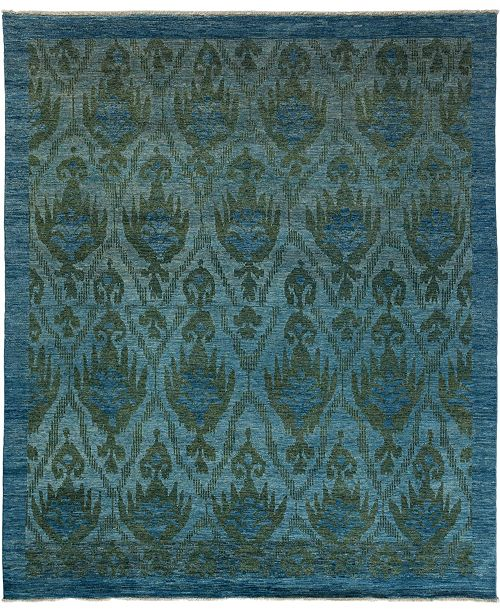 """Timeless Rug Designs One of a Kind OOAK3440 Moss 8'4"""" x 10' Area Rug"""