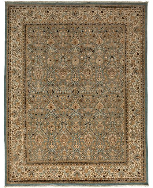 "Timeless Rug Designs CLOSEOUT! One of a Kind OOAK3544 Hazelnut 8'1"" x 10'3"" Area Rug"