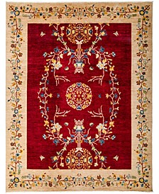 """CLOSEOUT! One of a Kind OOAK3122 Red 8'10"""" x 11'6"""" Area Rug"""