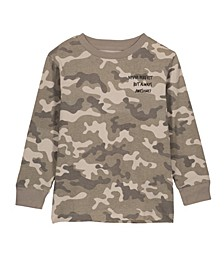 Toddler, Little and Big Boys Skater Long Sleeve Tee