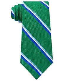 Men's Bronx Stripe Silk Tie
