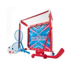 Franklin Sports 6-in-1 Knee Sports Game Set