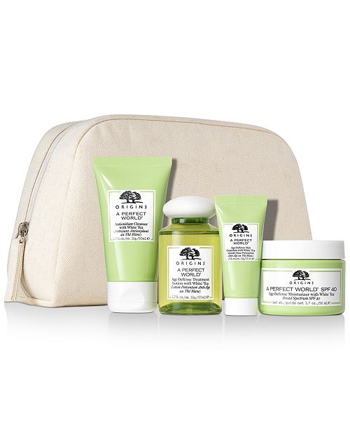 Origins 5-Pc. A Perfect World Protect, Defend & Hydrate Set
