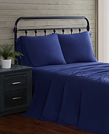 4-Piece Flannel King Sheet Set