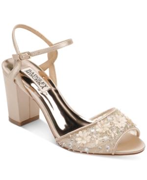 Badgley Mischka Carlie Evening Sandals Women's Shoes